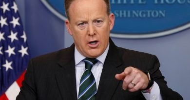 SPICER PRESS CONF SHOT